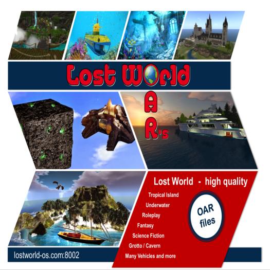LostWorld oars